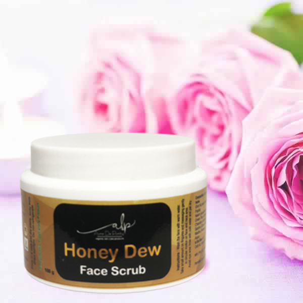 honey dew face scrub