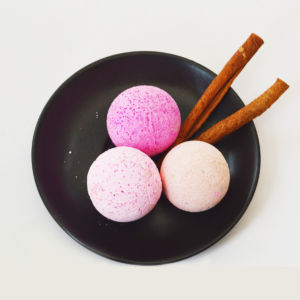 Set of 3 bath bombs