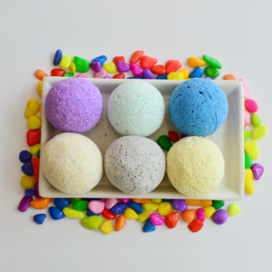 Set of 6 Bath Bombs