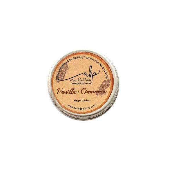 vanilla cinnaman lip balm