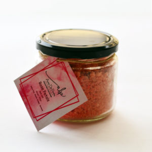 rose petals bath salt